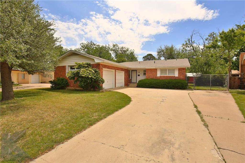 Sold Property   3133 Columbia Drive Abilene, Texas 79605 1