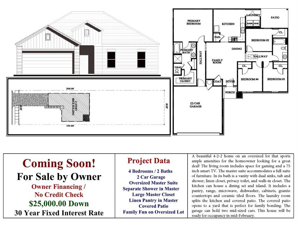 Active   3341 Springview  Avenue Dallas, TX 75216 0