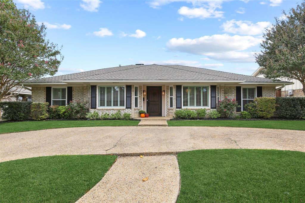 Dallas Real Estate | 7211 La Sobrina Drive Dallas, Texas 75248 1