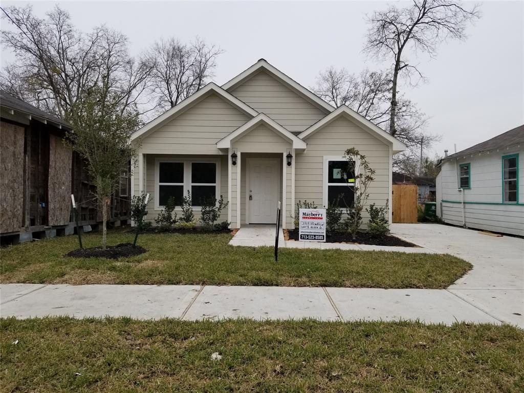 Active | 3427 Hadley Street Houston, TX 77004 3