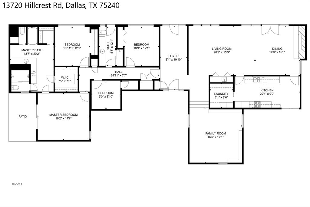 Active Option Contract | 13720 Hillcrest  Road Dallas, TX 75240 29