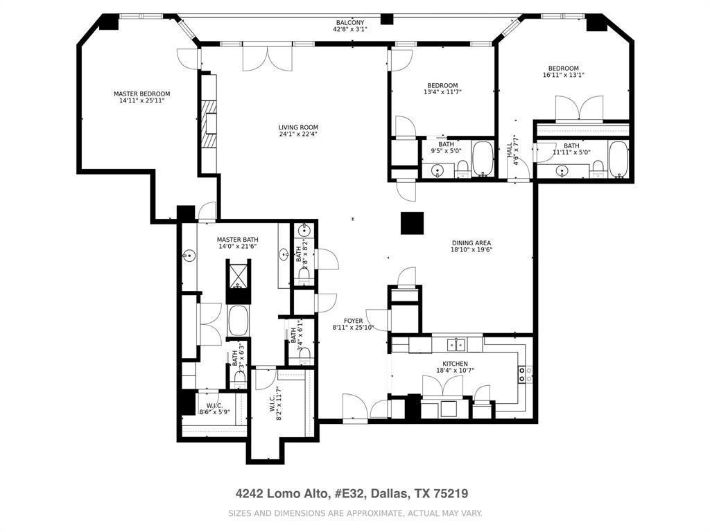 Active | 4242 Lomo Alto Drive #E23 Dallas, Texas 75219 25