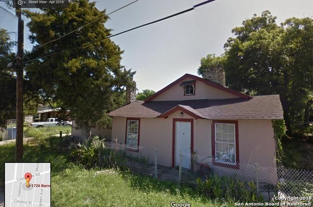 Off Market | 1726 BARNEY AVE  San Antonio, TX 78237 0