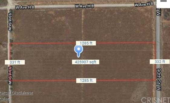 Active | 0 Vac/90 Stw/Vic Avenue H10 Lancaster, CA 93536 7