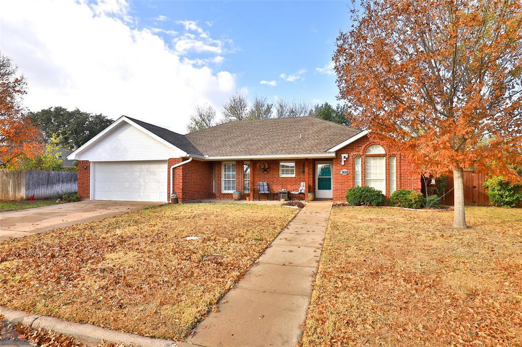 Sold Property | 1610 Morrow Lane Abilene, Texas 79601 1