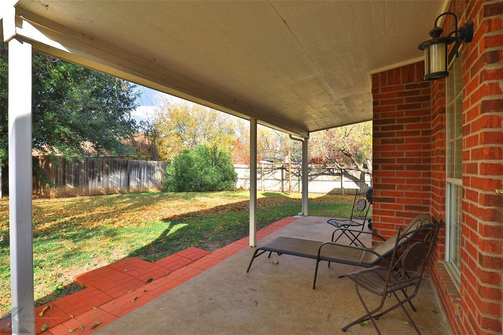 Sold Property | 1610 Morrow Lane Abilene, Texas 79601 29
