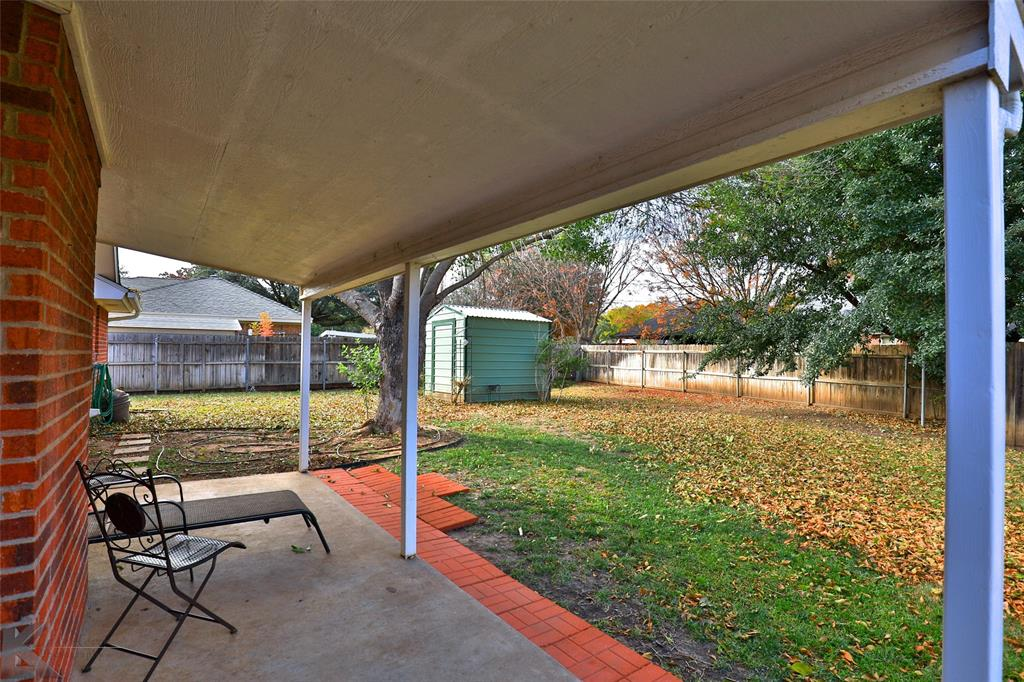 Sold Property | 1610 Morrow Lane Abilene, Texas 79601 36