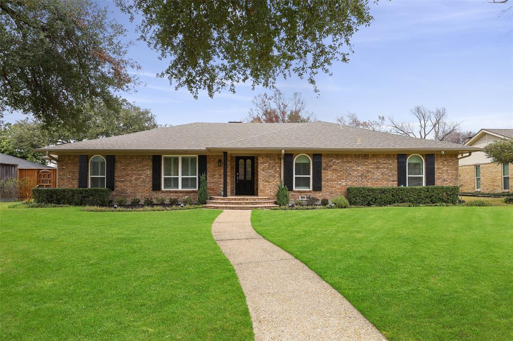 Sold Property | 7611 Tanglecrest Drive Dallas, Texas 75254 1