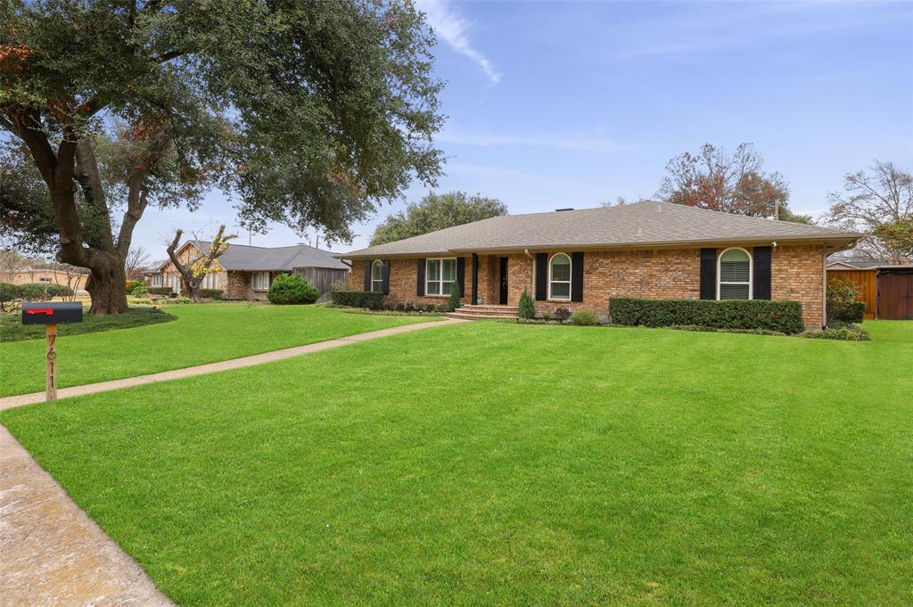 Sold Property | 7611 Tanglecrest Drive Dallas, Texas 75254 36