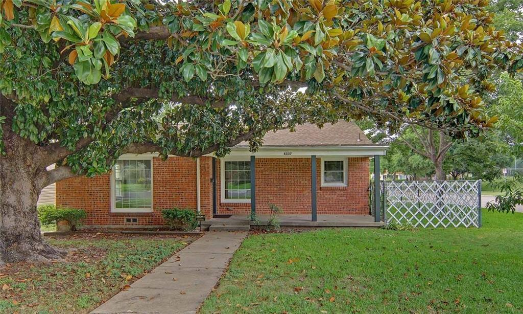 Sold Property | 4337 Curzon Avenue Fort Worth, Texas 76107 0