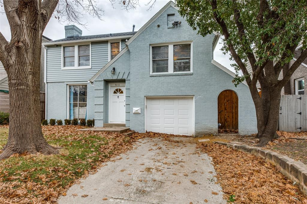 Sold Property | 5111 Pershing Street Dallas, Texas 75206 1
