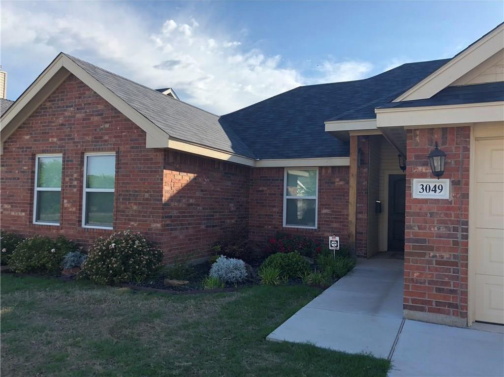Sold Property | 3049 Legends Trail Abilene, Texas 79601 1