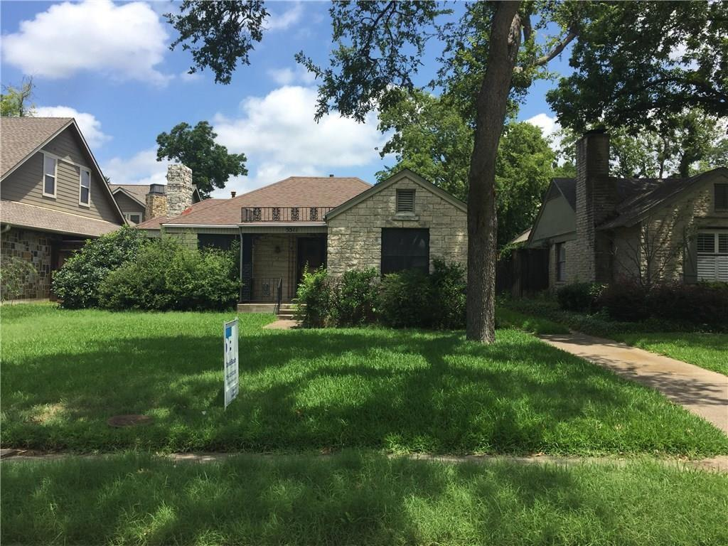 Sold Property | 5511 W Hanover Avenue Dallas, Texas 75209 0