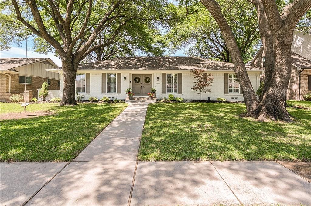 Sold Property   1322 Chickasaw Drive Richardson, Texas 75080 0