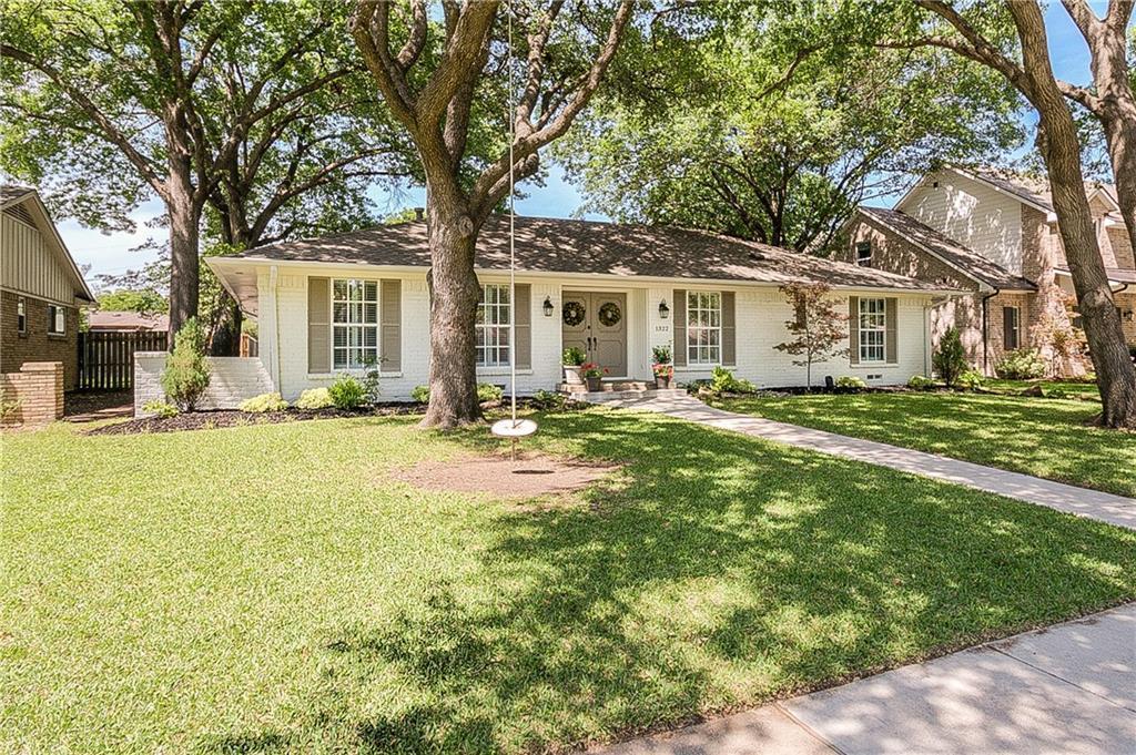 Sold Property   1322 Chickasaw Drive Richardson, Texas 75080 1