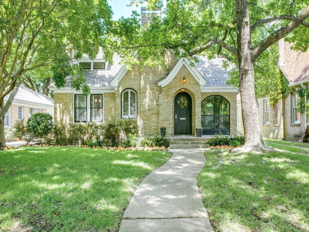 Sold Property   626 Cordova Street Dallas, Texas 75223 0