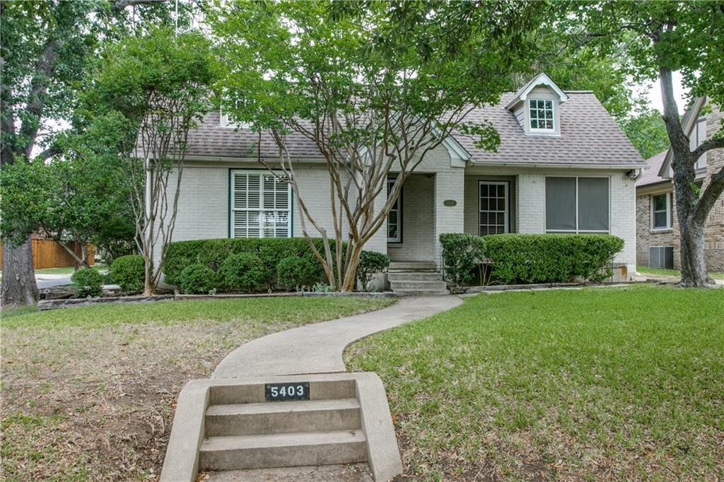 Leased | 5403 Mercedes Avenue Dallas, Texas 75206 1
