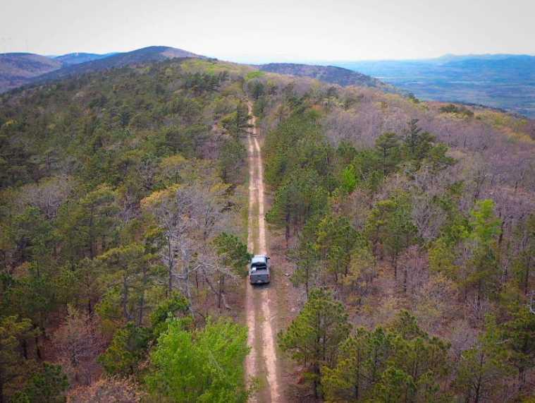 Land, hunting, cabins,  recreational land, hunting land | K-TRAIL VISTA - 22.46 AC ALBION, OK 74521 10