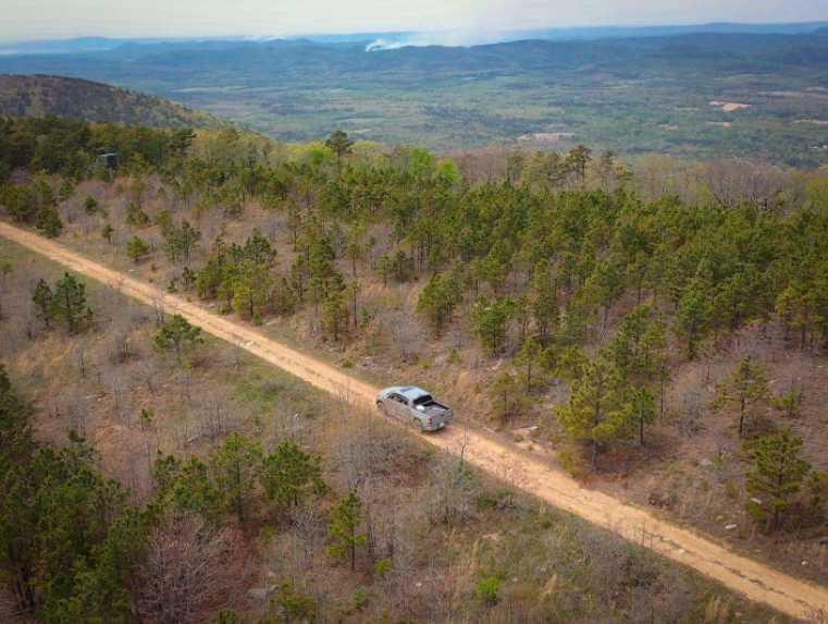 Land, hunting, cabins,  recreational land, hunting land | K-TRAIL VISTA - 22.46 AC ALBION, OK 74521 11