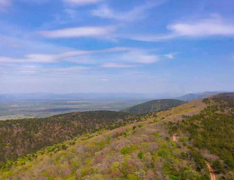 Land, hunting, cabins,  recreational land, hunting land | K-TRAIL VISTA - 22.46 AC ALBION, OK 74521 5