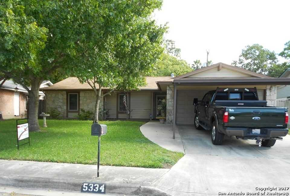 Sold Property   5334 Peppermint Dr Kirby, TX 78219 0