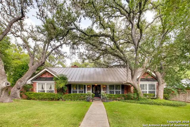 Marymont, In-Ground swimming pool, fireplace, Alamo Hights | 9206 VILLAGE DR  San Antonio, TX 78217 0