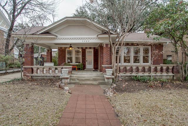 Sold Property | 6222 Bryan Parkway Dallas, Texas 75214 0