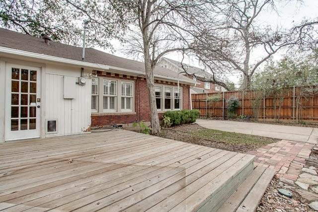 Sold Property | 6222 Bryan Parkway Dallas, Texas 75214 22