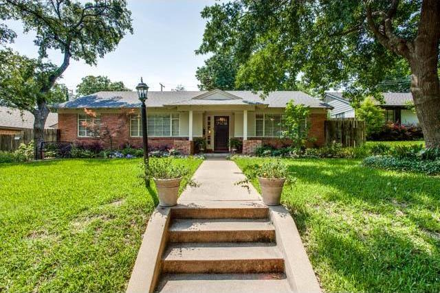 Sold Property | 7324 Crownrich Lane Dallas, Texas 75214 0