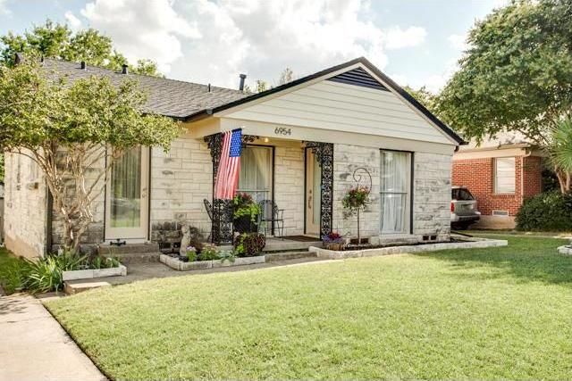 Sold Property | 6954 Coronado Avenue Dallas, Texas 75214 0