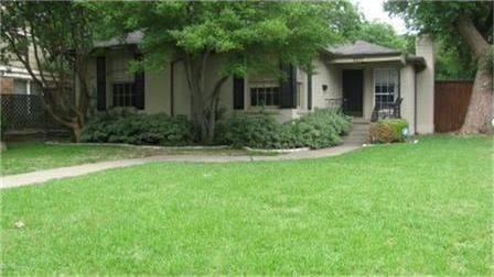 Sold Property | 6371 Vanderbilt Avenue Dallas, Texas 75214 1