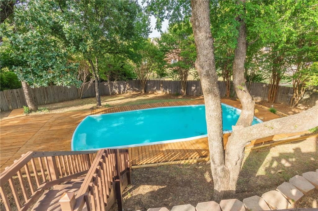 homes for sale in arlington, real estate in arlington, house with a pool, martin high school house | 4201 Del Norte Drive Arlington, Texas 76016 24