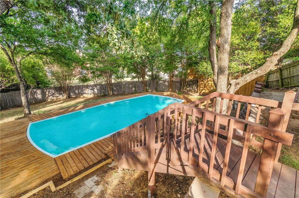homes for sale in arlington, real estate in arlington, house with a pool, martin high school house | 4201 Del Norte Drive Arlington, Texas 76016 25