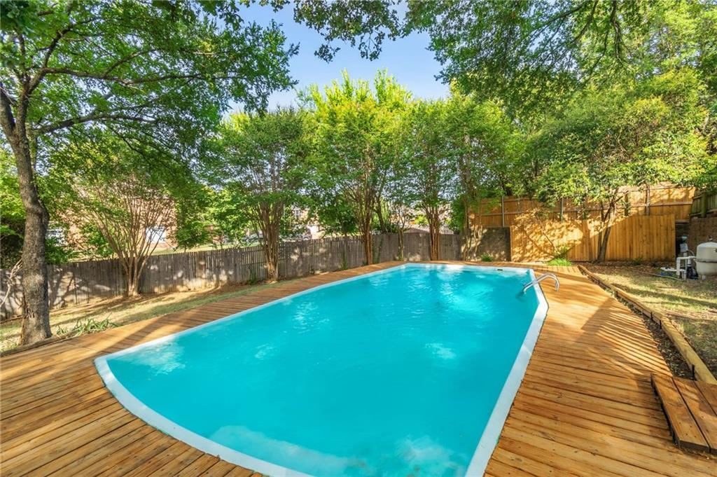 homes for sale in arlington, real estate in arlington, house with a pool, martin high school house | 4201 Del Norte Drive Arlington, Texas 76016 27