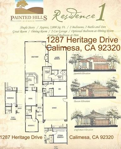 Closed | 1287 Heritage Drive Calimesa, CA 92320 57
