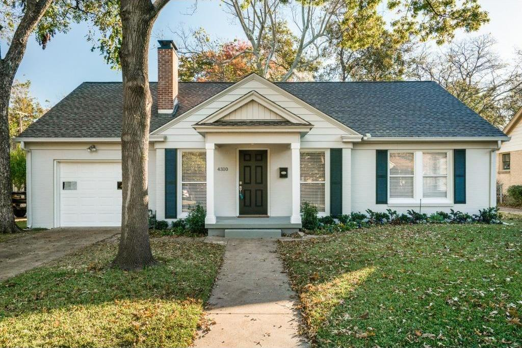 Sold Property | 4310 Somerville Avenue Dallas, TX 75206 0