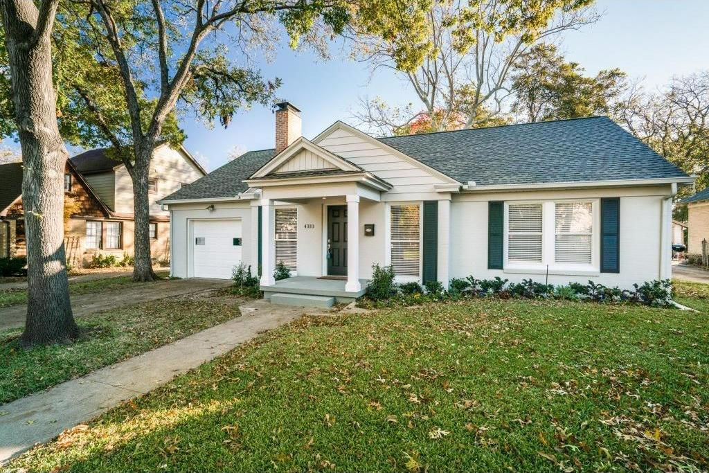 Sold Property | 4310 Somerville Avenue Dallas, Texas 75206 1