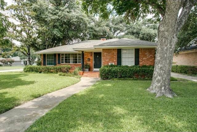 Sold Property   6719 Ravendale Lane Dallas, Texas 75214 0