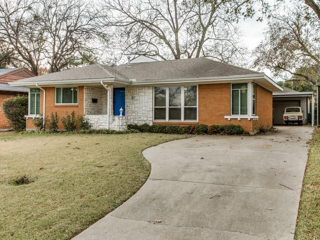 Sold Property | 307 Bon Aire Drive Dallas, Texas 75218 0