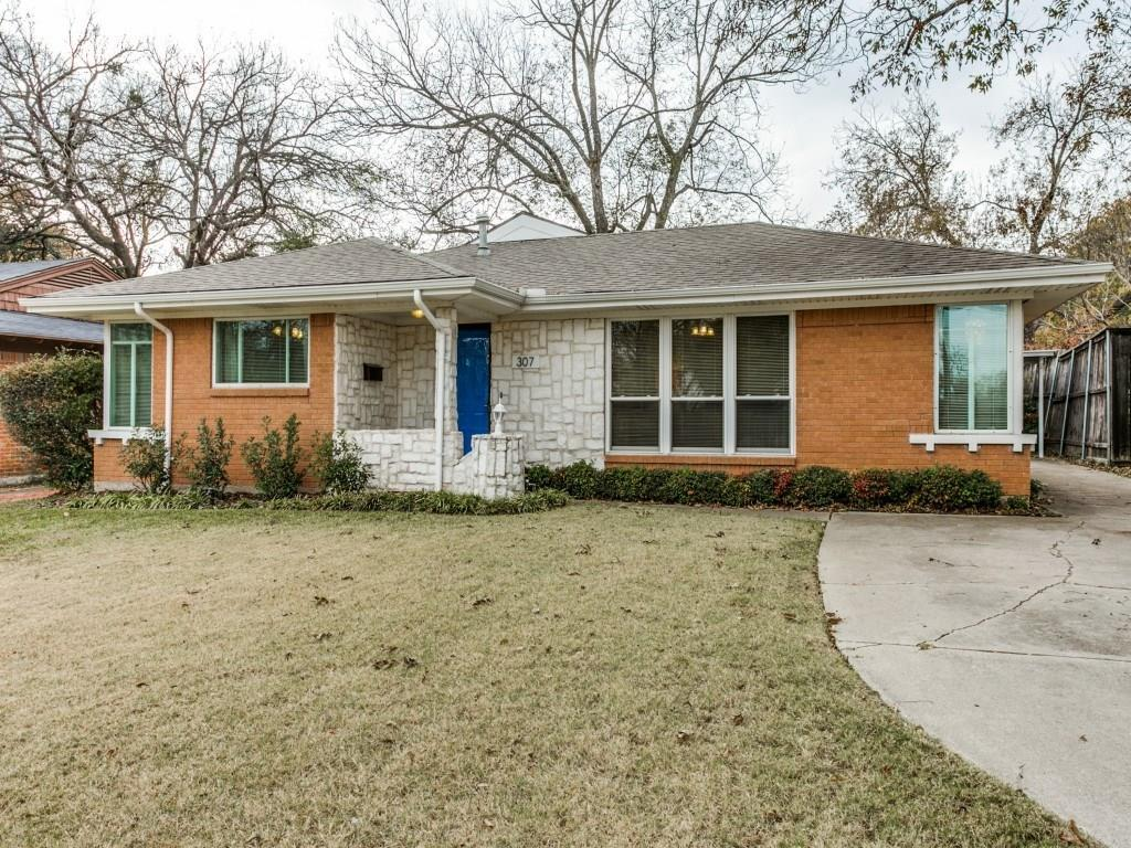 Sold Property | 307 Bon Aire Drive Dallas, Texas 75218 1