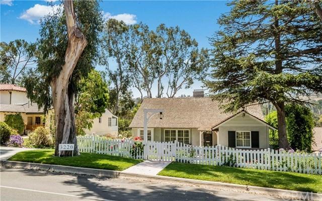 Closed | 3220 Palos Verdes Drive Palos Verdes Estates, CA 90274 3