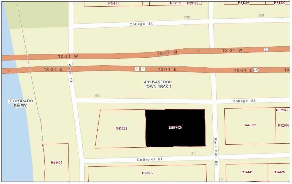 Commercial Lot for Sale Bastrop TX | 807 College St Bastrop, TX 78602 2