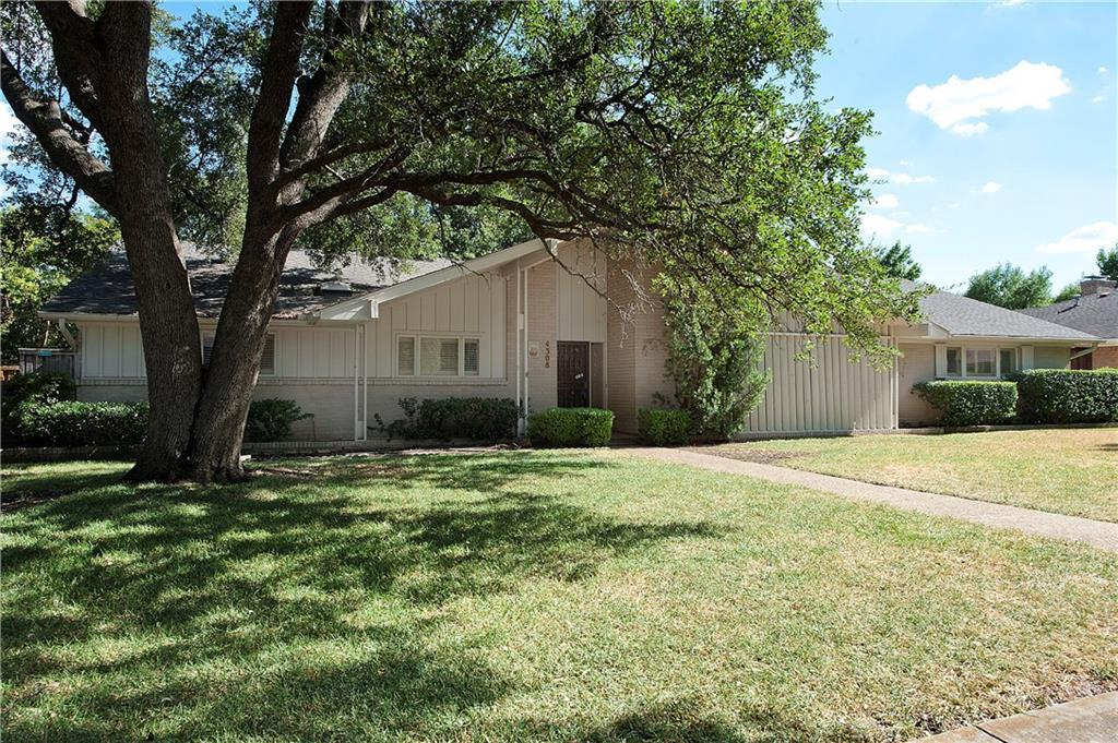 Sold Property | 4308 Laren Lane Dallas, Texas 75244 1