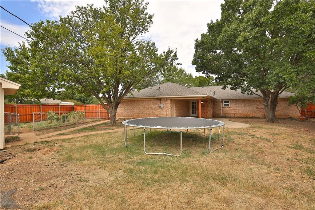 Sold Property   3499 Santa Monica Drive Abilene, Texas 79605 33
