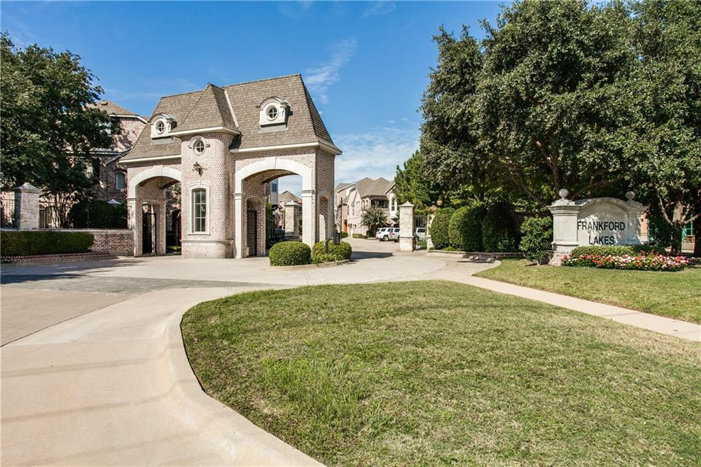 Sold Property | 18159 Frankford Lakes Circle Dallas, Texas 75252 1