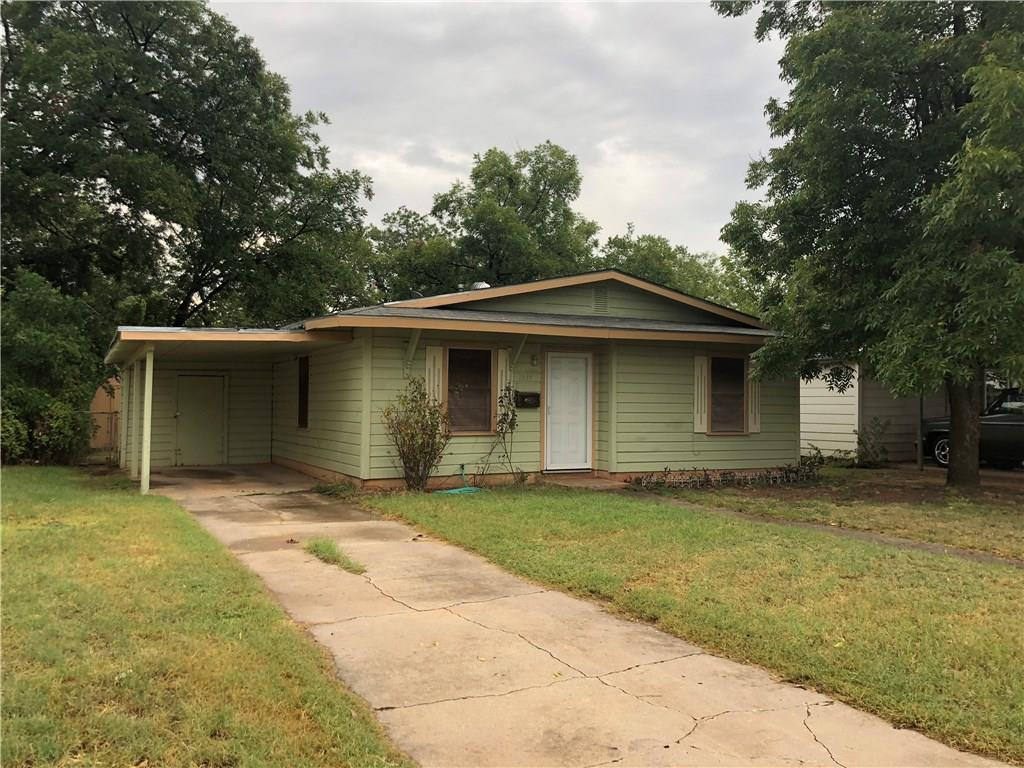 Sold Property | 1357 S Bowie Drive Abilene, Texas 79605 0