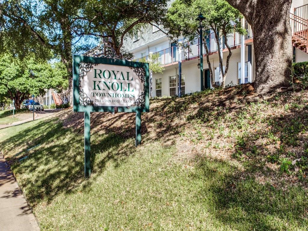 Sold Property | 7807 Royal Lane #C Dallas, Texas 75230 0