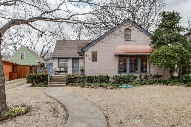 Sold Property | 815 Newell Avenue Dallas, Texas 75223 0