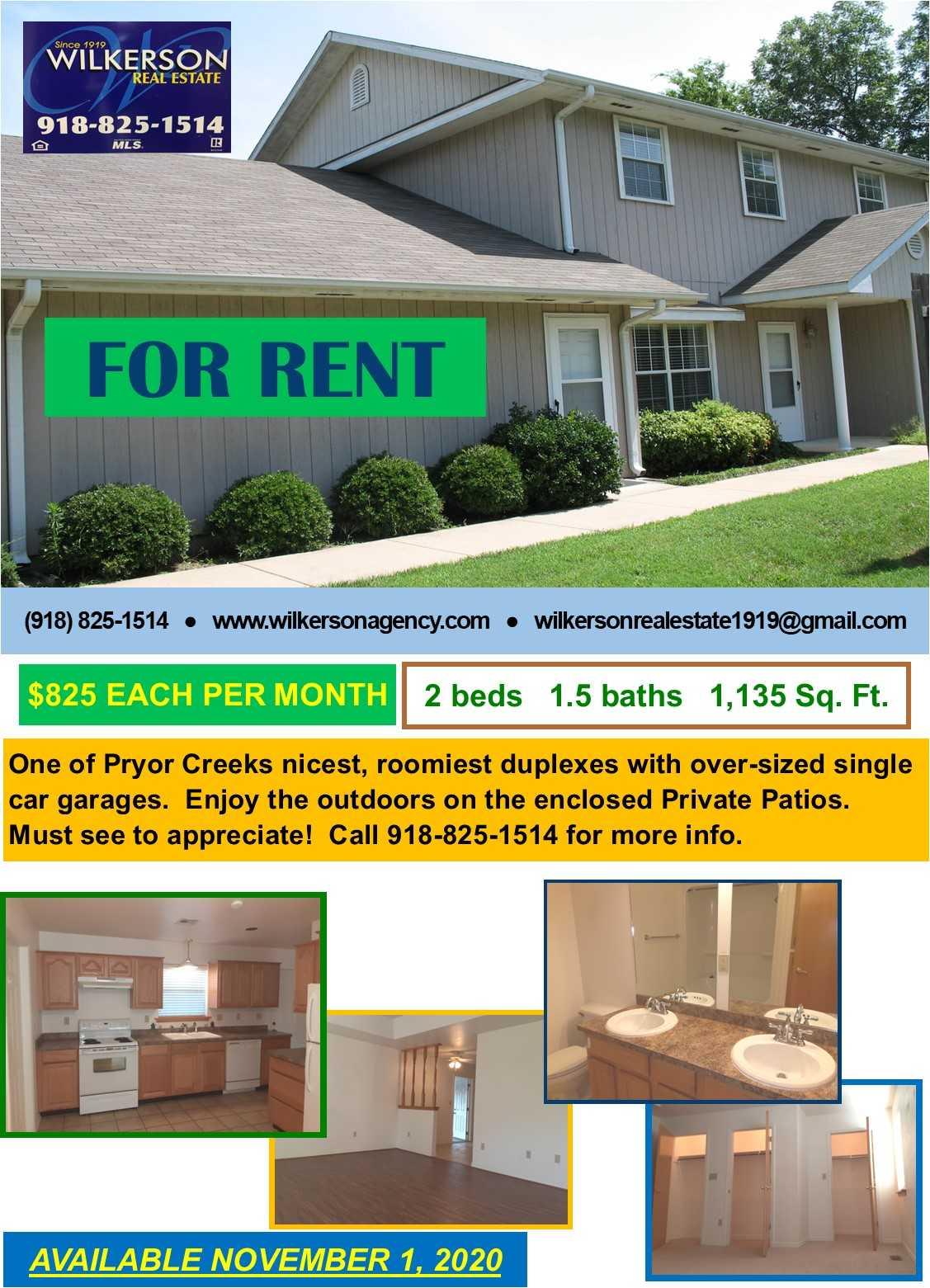 Property for Rent | Rental #15 Premium Senior Living Pryor, OK 74361 2