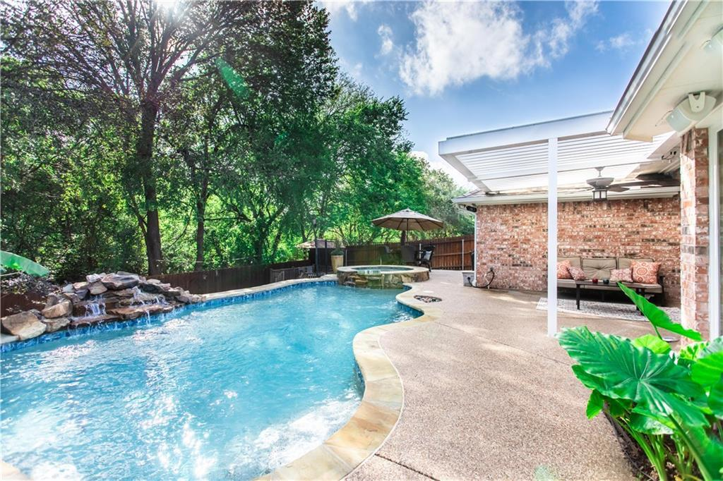 flower mound home for sale pool | 5228 Timber Park Drive Flower Mound, Texas 75028 30